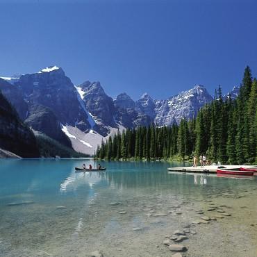 Moraine lake 4