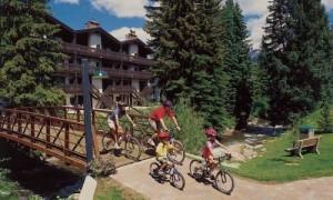 biking vail village