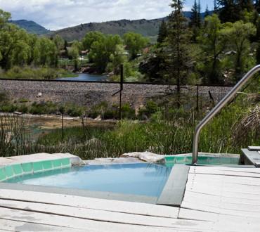hot sulpher colorado pool