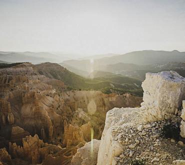 Sunset on Point Supreme, Cedar Breaks National Monument, Utah.