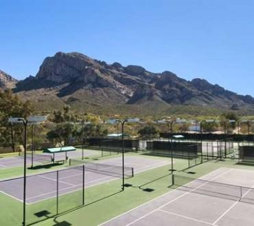 Enjoy our tennis courts!