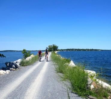 stowe island line trail
