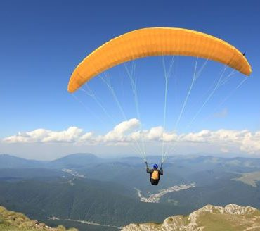 stowe paragliding